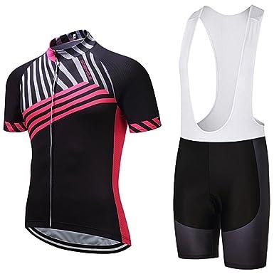 Amazon.com  Women Jersey 9D Gel Pad Summer MTB Bicycle Wear Cycle Bike Mens  Shorts Set  Clothing 4ce97deab