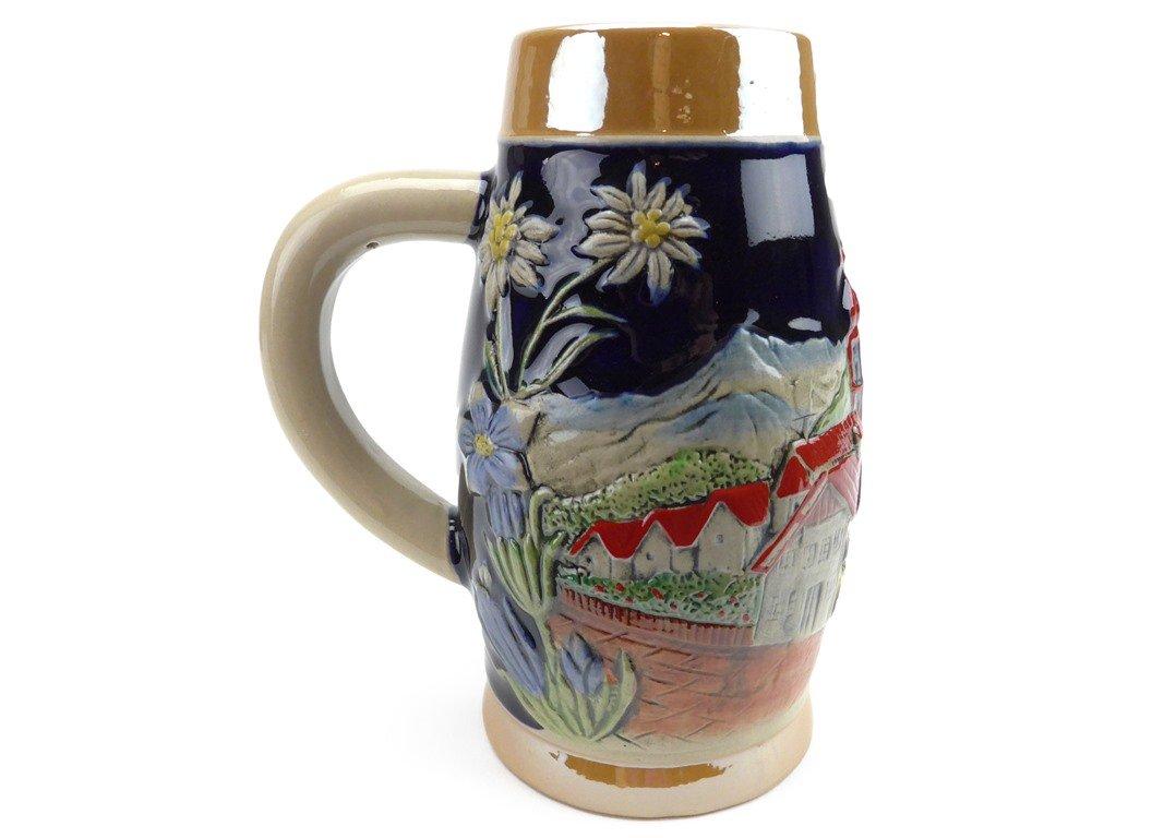 .55 Liter Beer Stein Alpine Village Beer Mug by E.H.G