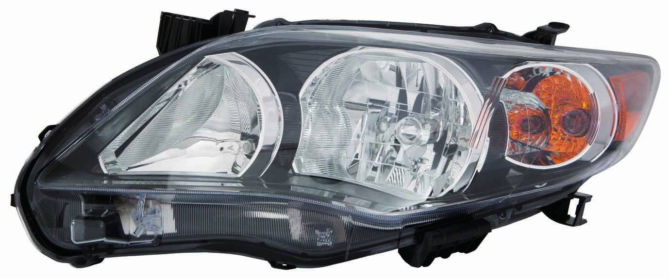 Depo 312-11C5R-AF2 Toyota Corolla Passenger Side Head Light Assembly