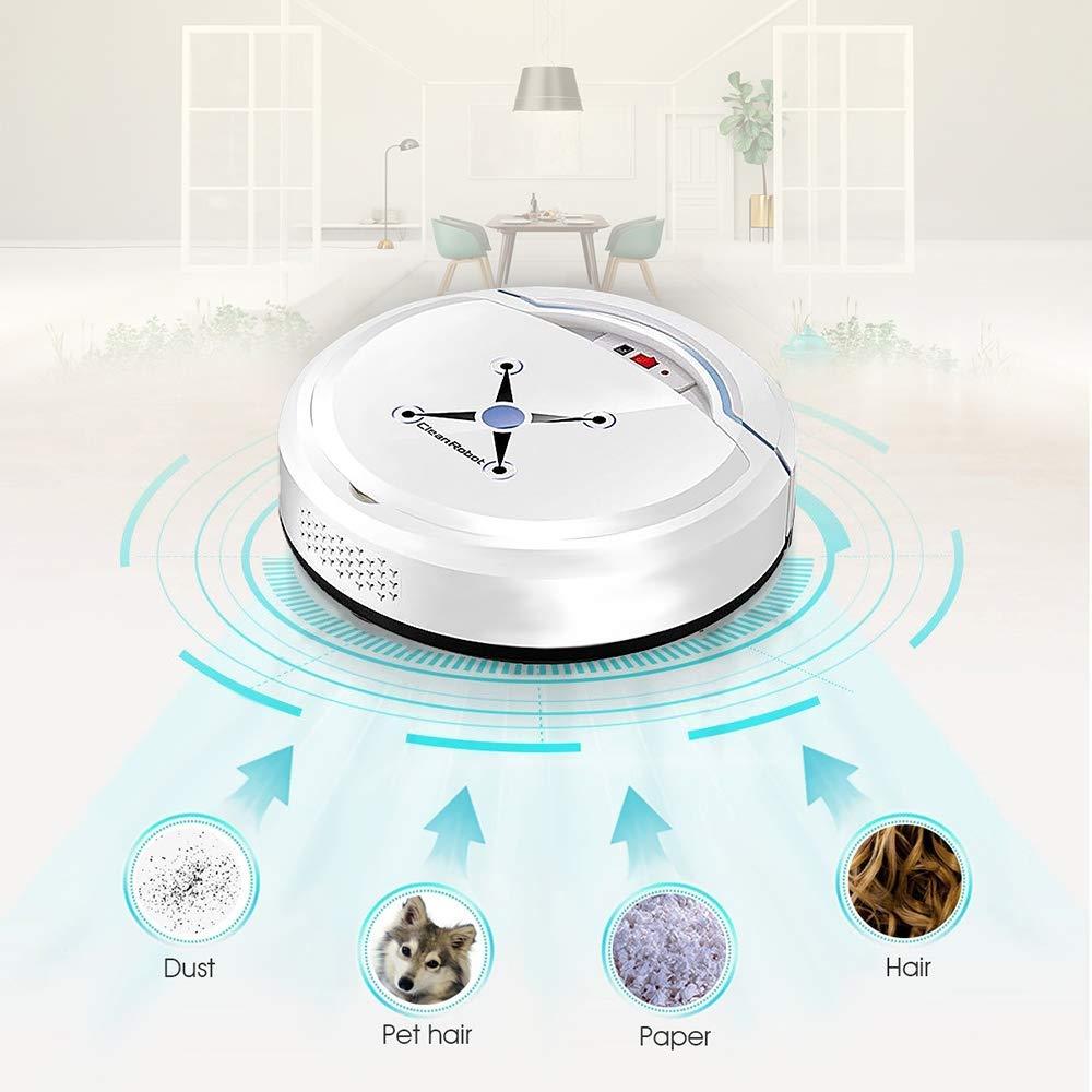 H.L Aspiradora Robot, aspiradora automática hogar USB Limpieza ...