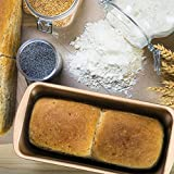 Non-Stick Loaf Pan Set, 4 Pieces Toast Baking