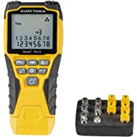 Klein Tools VDV501-851 Cable Tester Kit with Scout Pro 3 for Ethernet/Data, Coax/Video and Phone Cables, 5 Locator…