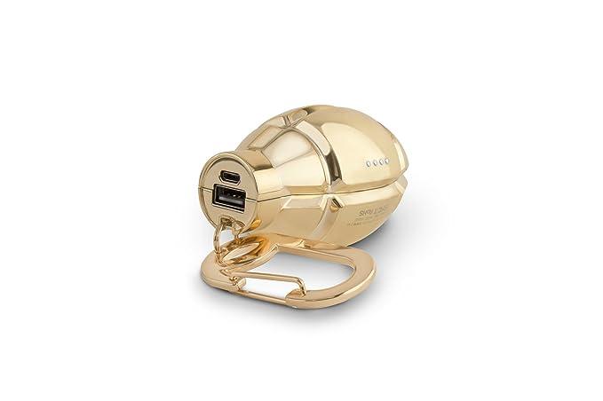 Amazon.com: buqu Nade USB Power Bank, color dorado, Dorado ...