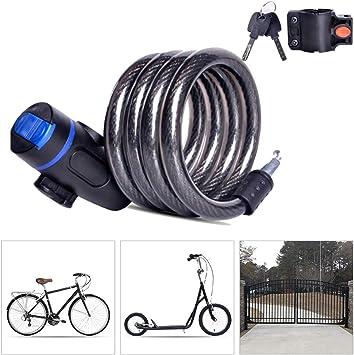 Candado Bici Candado Bicicleta Alta Seguridad con Abrazadera ...