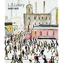 L S Lowry Desk Diary 2018