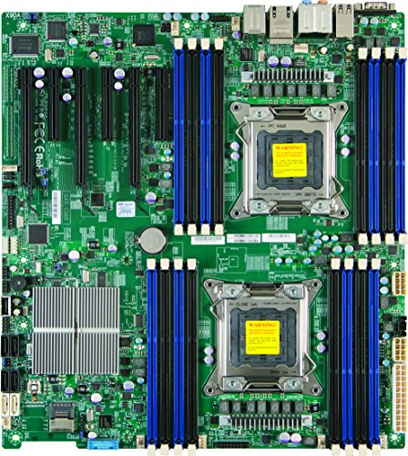 Supermicro X9DAI-O LGA2011/ Intel C602/ DDR3/ SATA3&USB3.0/ A&2GbE/ EATX Server Motherboard (Chipset Eatx Server)