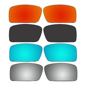 4 par de repuesto lentes polarizadas para Oakley Gascan Small (S) gafas de sol