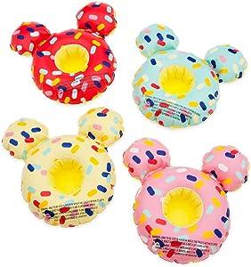 Disney Mickey Mouse Donut Floating Drink Holder Set