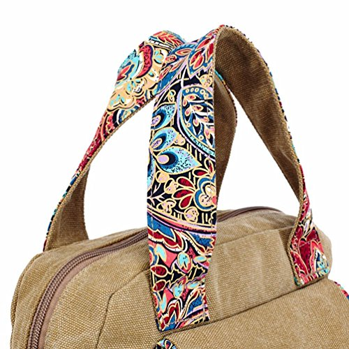 Canvas Wind Handbag Original National Aa Women's Spent Chang Messenger Fashion Bag X08FWw6Xq4