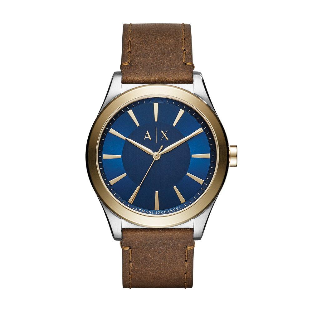 Amazon.com  Armani Exchange Men s Dress Brown Leather Watch AX2334  Armani  Exchange  Watches 3ec26b101c