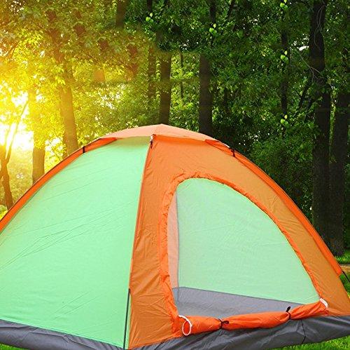 Outdoor Camping Zelt Strand Sonnenschutz Anti-UV Doppel Automatische Zelt