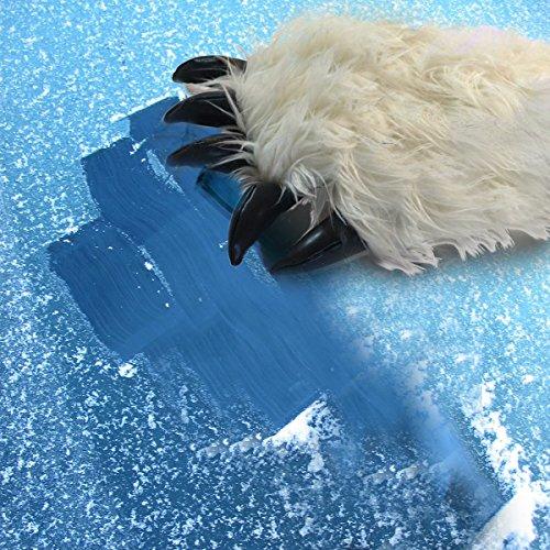 Novelty Yeti Hand Car Ice Scraper Bear Claw Ice Scraper