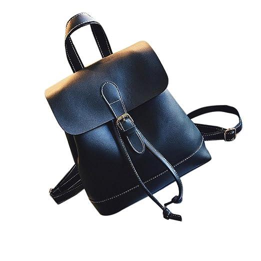Amazon.com  Backpack Leather School Bags fb3f59f566928
