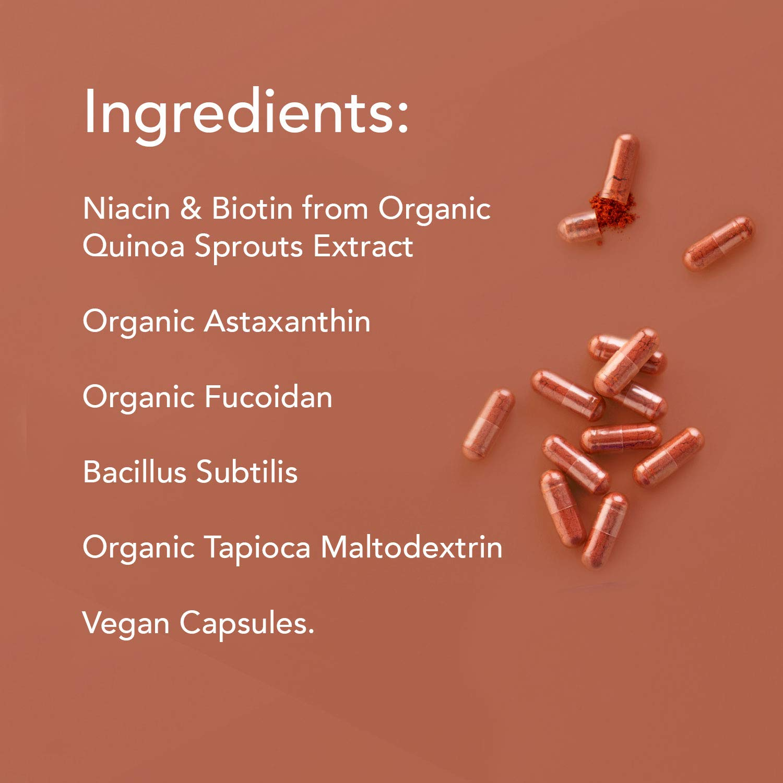 Amazon.com: Ora Organic Hair, Skin & Nail Vitamins - Biotin ...