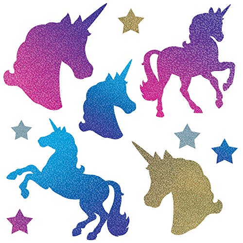 (Beistle Unicorn Cutouts | Birthday Theme Party Decorations (30 Count))