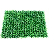Facethoroughly Artificial Lawn,Artificial Hedge Plant Faux Greenery Panel Backdrop Wall Landscape,Fake Grass Carpet Home Garden Wall Decoration(23.6' x 15.7')