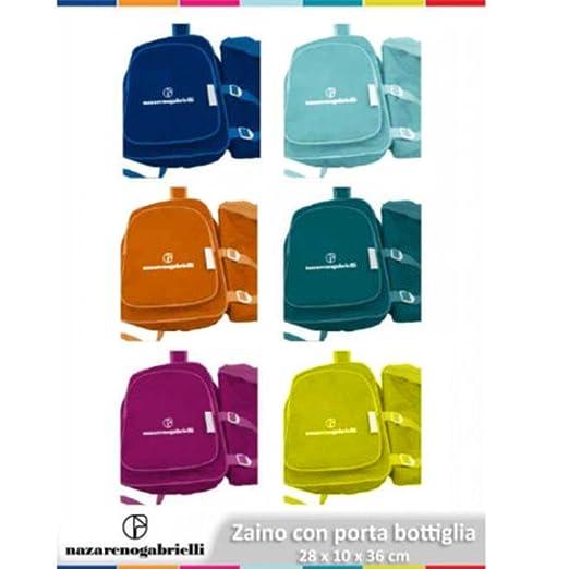 Mochila Nevera térmica más Porta Botella suave colores vivos para ...