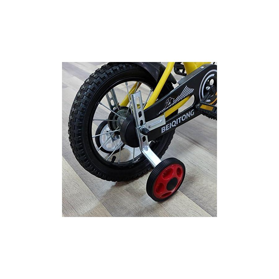 MORFAN Training Wheels for 12 14 16 18 20Inch Bicycle,Kids Bike Stabiliser