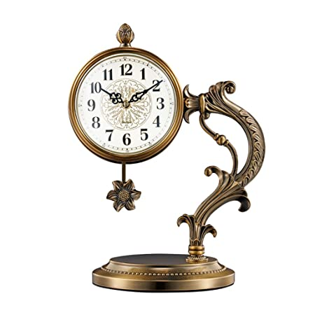 GYC .Relojes de Mesa Reloj de Escritorio pequeño Reloj Reloj de ...