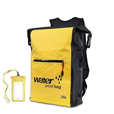 4df8aa89b541 Waterproof Dry Bag Malagu Floating Lightweight Backpack For Water Sports   Amazon.co.uk  Clothing