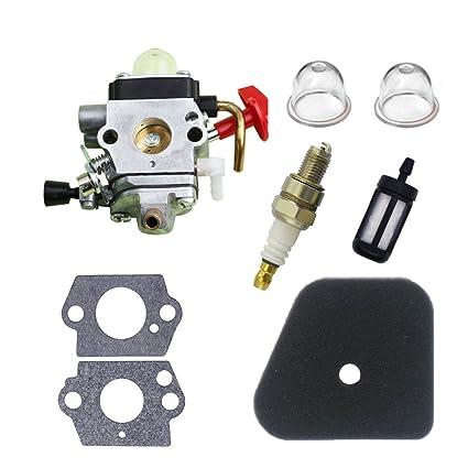 Savior Carburetor C1Q-S174 with Primer Bulb Gasket Fuel Air Filter Spark  Plug for STIHL FS87 FS90 FS100 FS110 FS130 HL90 HL95 HL100 HT100 HT101 KM90