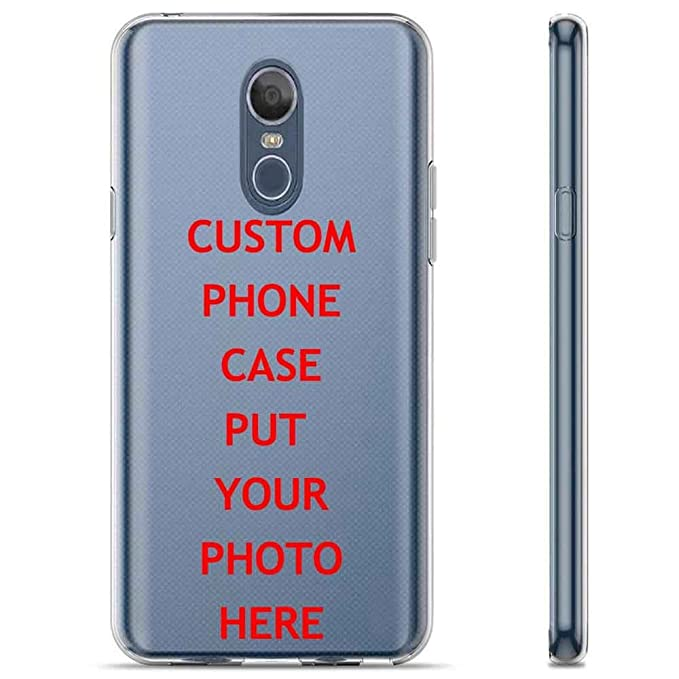 best loved bc4e1 51f5b LG LG Stylo 4/Q Stylus [Clear] Slim Impact Resistant Armor Cover Case  Amazon Custom Tool YOUR KIDS PHOTO HERE