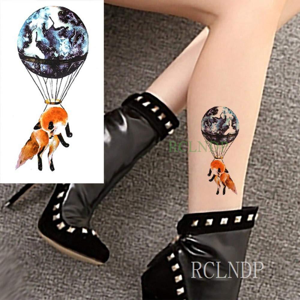 Tatuaje de transferencia de agua Reloj de arena moon star tattoo ...