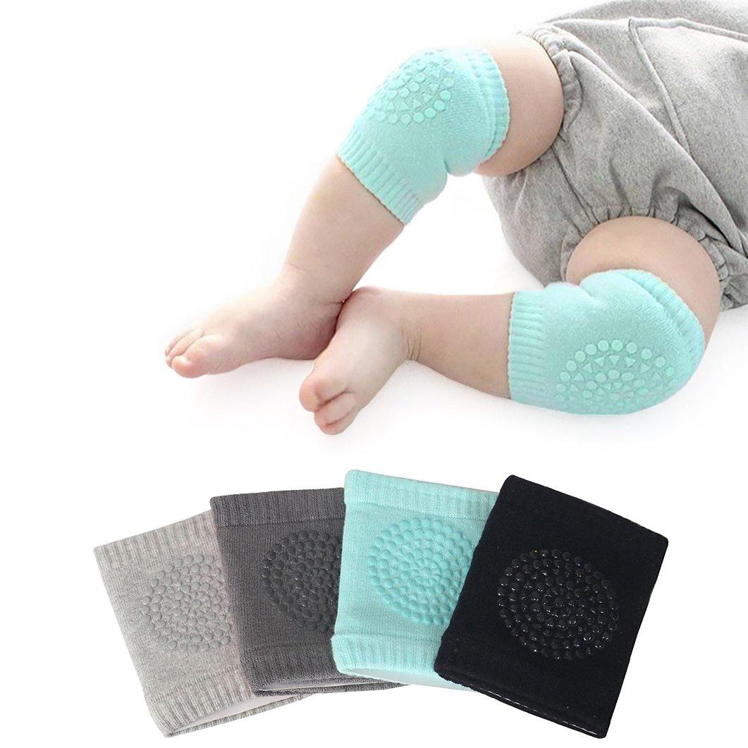 Baby-Knieschützer 5 Paar Baby Krabbel Knieschoner Elastische Baby-Bein