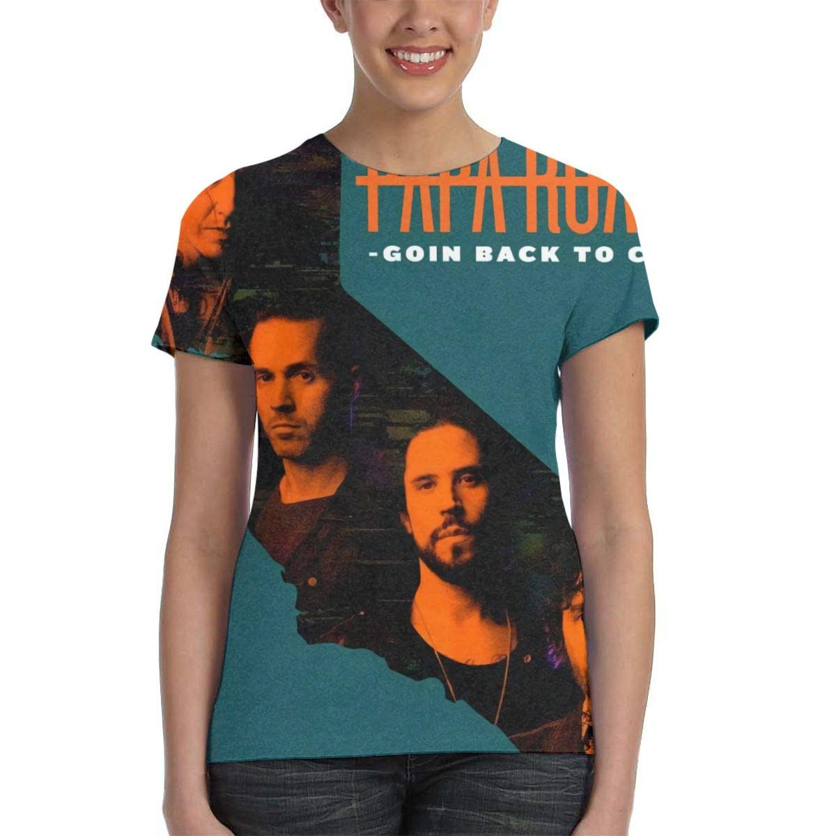 Papa Roach 3D Printed Classic Soft Womans Round Neck Short Sleeve Tee