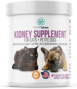 PET CARE Sciences Cat Kidney Support Chews, Promotes Healthy and Functioning Kidneys in Cats and Small Dogs