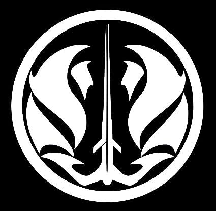 Amazon The Gray Jedi Code Insignia Decal Vinyl Stickerur