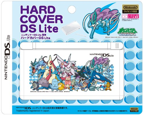 DS Lite Official Pokemon Diamond and Pearl Hard Cover - Water Pokemon ()