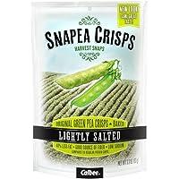 Harvest Snaps Snapea Crisps Lightly Salted - Pack of 3, 3.3 Oz. Ea.