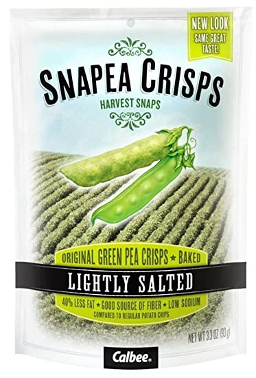 amazon com harvest snaps snapea crisps lightly salted pack of 3