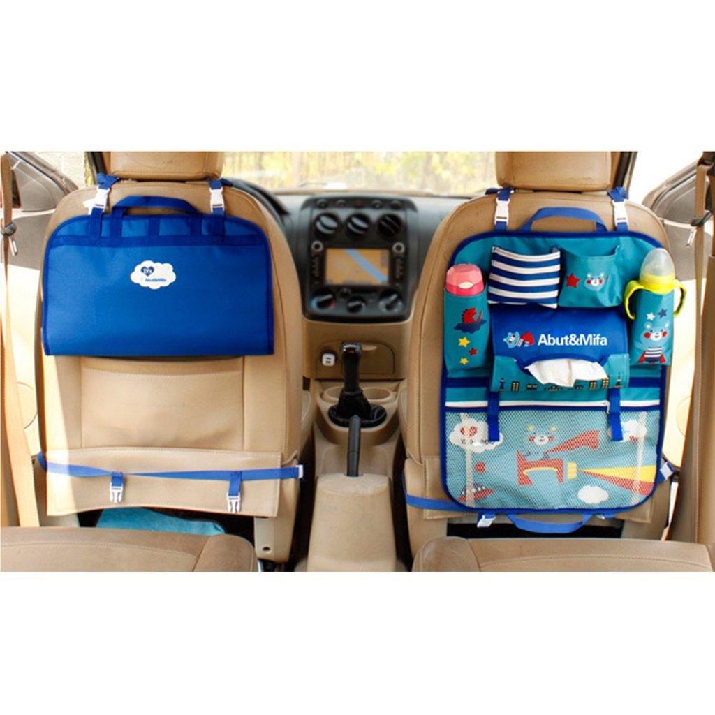 UEK Auto Tasca Sedile Organizzatore Multi Tasca per Sedile Auto Backseat Organizer da passeggino e da viaggio