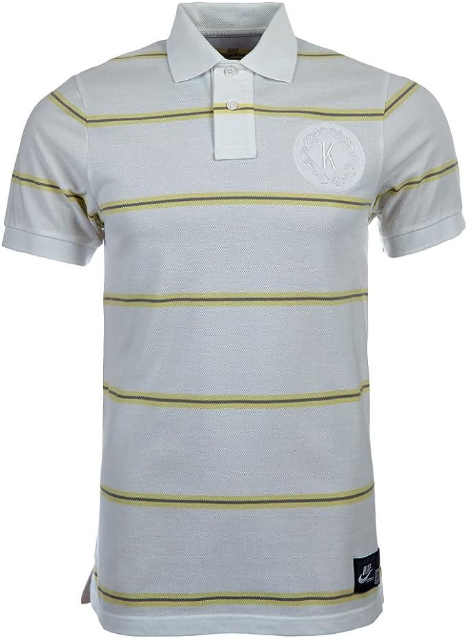 Nike Mens BB Kobe GS Polo a Rayas para Hombre, Camiseta ...