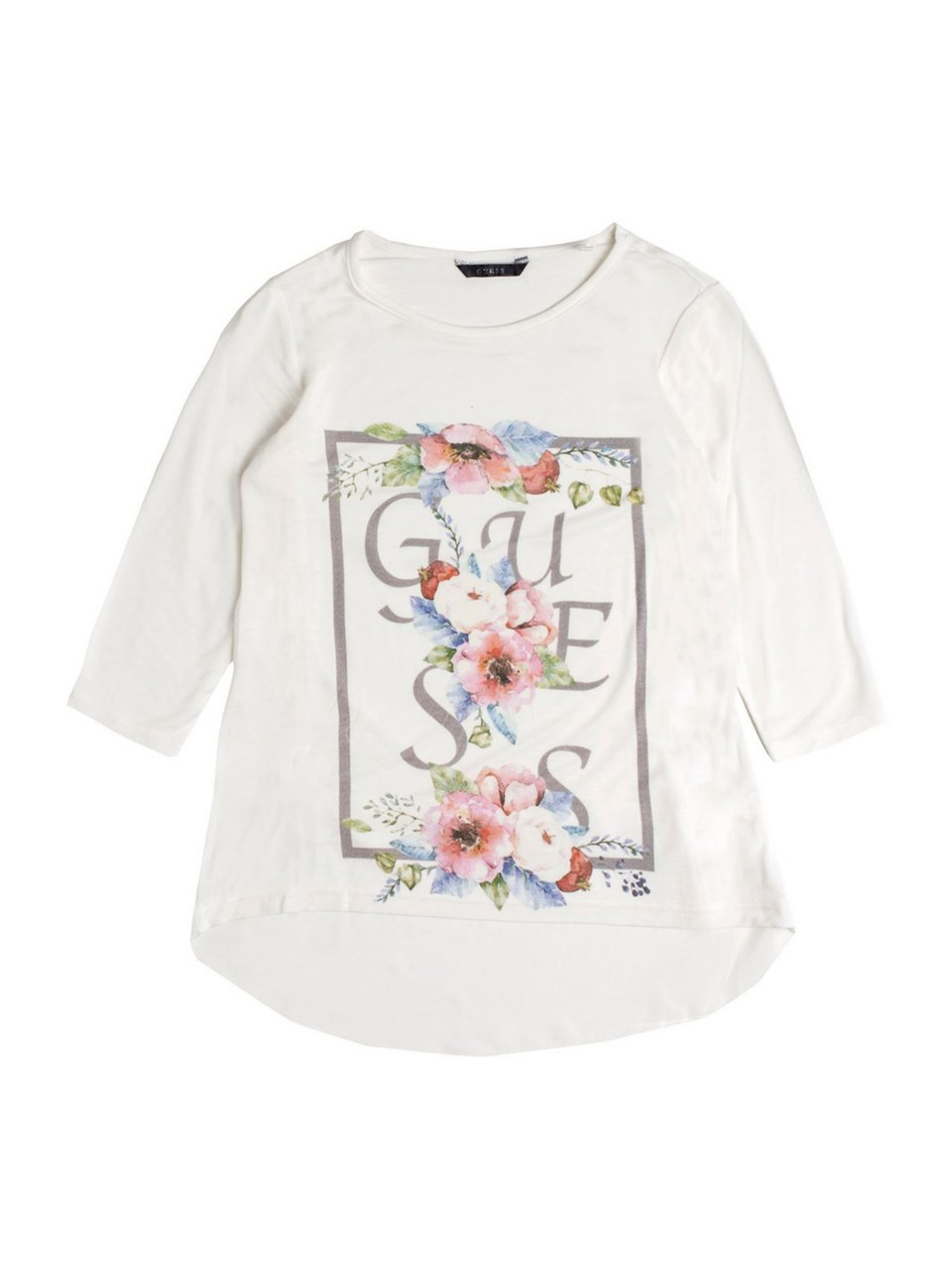 GUESS Floral Graphic Tee (7-16)