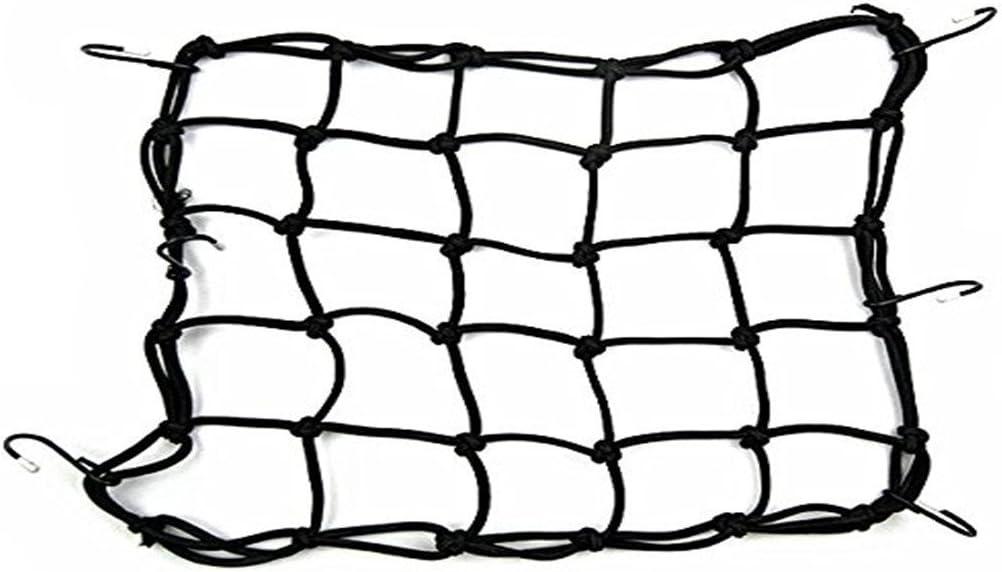 Grifri Motorrad Gepäcknetz Spanngurt Elastisches Seil Motorrad Netz Tasche 6 Haken Auto