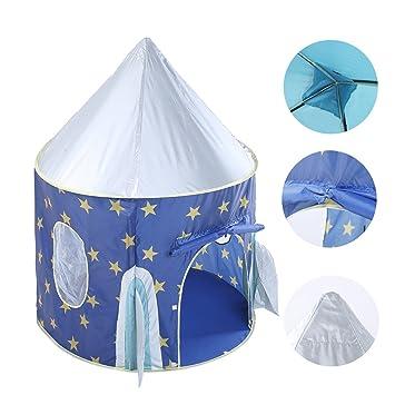 new arrivals 59939 5fa0f Amazon.com: Waliga Rocket Ship Play Tent Indoor/Outdoor ...