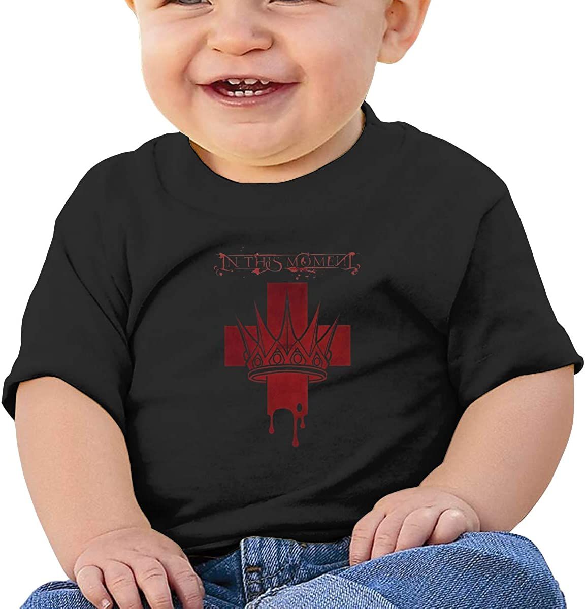 in This Moment Toddler T Shirt 100/% Cotton Band Graphic Art Tops