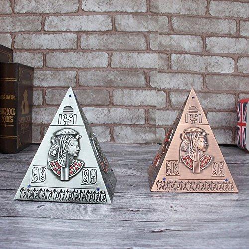 sis-14cm-egyptian-pyramid-craft-art-statue-modelmoney-jarmoney-boxsaving-box-antique-brass-egyptian-