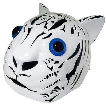 utakfi exterior equipos de deportes con forma de cabeza de tigre regalo casco de ciclismo para