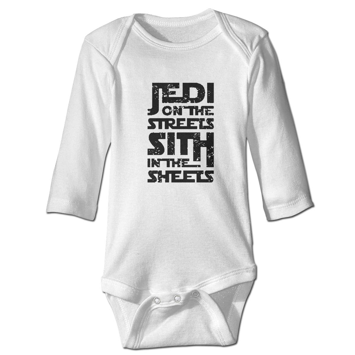Jedi in The Streets Long Sleeve Bodysuits Rompers Outfits