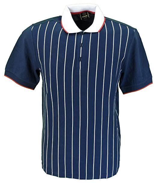 Merc - Polo - Rayas - Clásico - para Hombre Azul Azul Marino S ...
