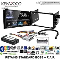 Volunteer Audio Kenwood DDX9904S Double Din Radio Install Kit with Apple CarPlay Android Auto Bluetooth Fits 2003-2005 Chevrolet Blazer, 2003-2006 Silverado, Suburban (Standard Bose)