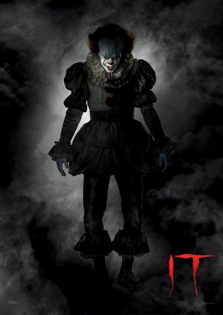 MightyPrint IT The Movie Pennywise The Dancing Clown Wall Art Next Generation Premium Print