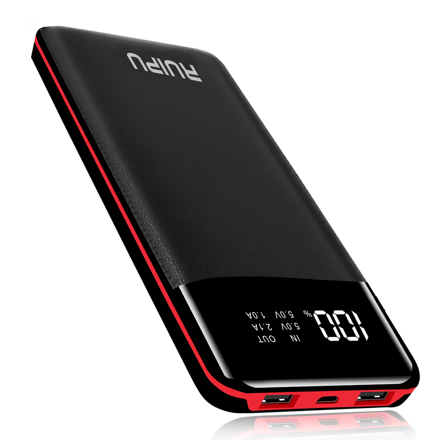 Power Bank 24000mAh Portable Charger Huge Capacity Dual USB External Battery Packs Portable Phone Charger Battery Backup Compatible More the Android Smart phone,Tablets and Others by Ruipu Direct