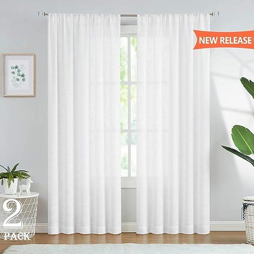 Fmfunctex Sheer Curtains