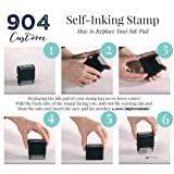 Custom Stamp - 20 Font Options - Self-Inking