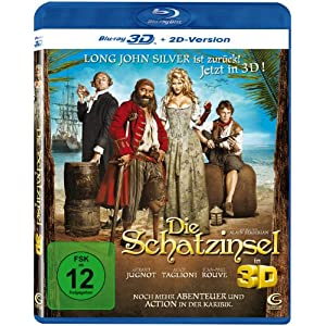 Die Schatzinsel 3D 3D Blu-ray + 2D Version